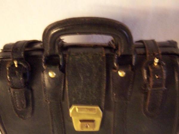f9c8d8a891e Ravel robuuste zwart leren tas/koffer - huntingad.com
