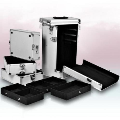 trolley beautycase visagiekoffer pedicurekoffer nieuw. Black Bedroom Furniture Sets. Home Design Ideas