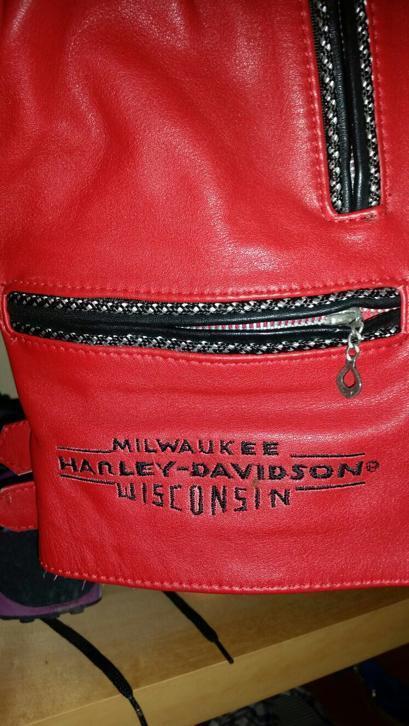 Rode Leren Dames Jas.Harley Davidson Rode Leren Dames Jas Medium Large Huntingad Com