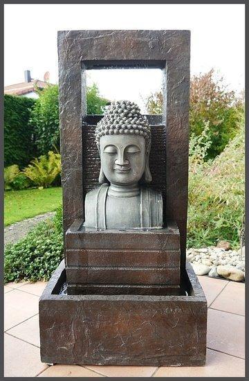 Giant boeddha buddha fontein 109cm waterpartij watero - Gartenbrunnen buddha ...