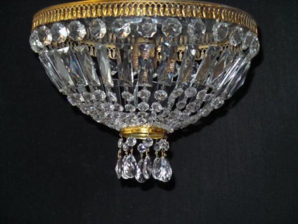 Plafonniere Met Kristallen : Oude kristallen plafonniere huntingad