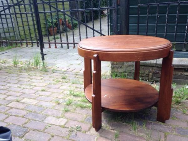 Salontafel Rond Brocante.Art Deco Brocante Salontafel In Nette Staat Huntingad Com