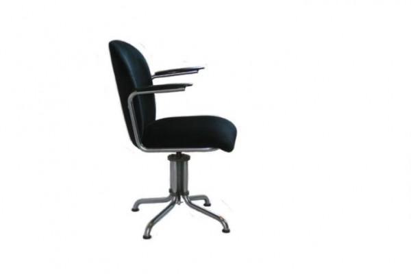 Originele Gispen Bureaustoel.Vintage Mat Chroom Gispen 356 Bureaustoel Zwart Corduroy Huntingad Com