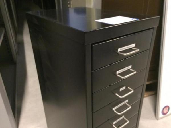 Metalen Kast Retro : Mooie zwarte metalen ladekast retro kast met smalle laden