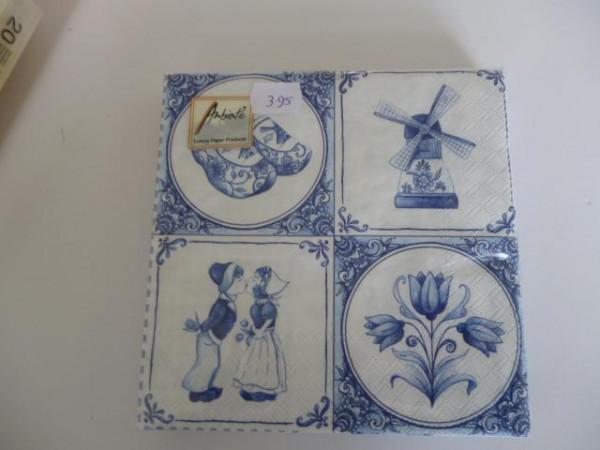 Antiek Delfts Blauw Merktekens.Servetten In Het Delfts Blauw Of Met Tulpen Huntingad Com