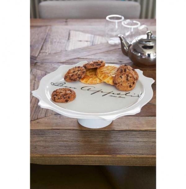 Welp NIEUW Riviera Maison Bon Appetit Cake Stand Taart Plateau EA-35