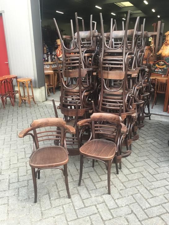 Design Stoelen Gebruikt.Cafe Stoelen Gebruikt Horeca Thonet Bistro Bar Cafestoelen