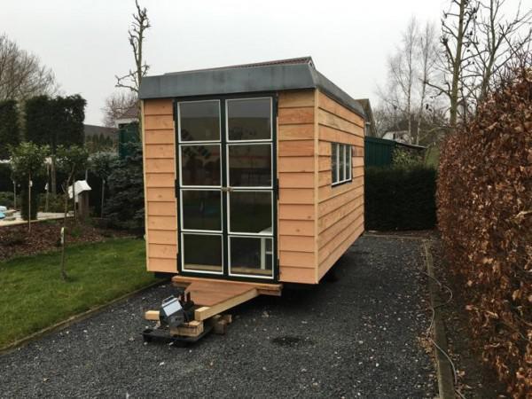 Schaftkeet pipowagen mobiel tuinhuis for Mobiel te koop