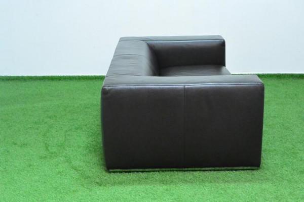 Bruin Leren Design Bank.Fraaie Bruine Leren Designbank Van Sur En Plus Izg Staat
