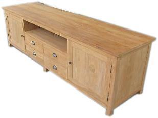Teak Koloniaal Tv Meubel.Tv Dressoir Tv Meubel 200 Teak Tv Kast Koloniaal Tv Huntingad Com