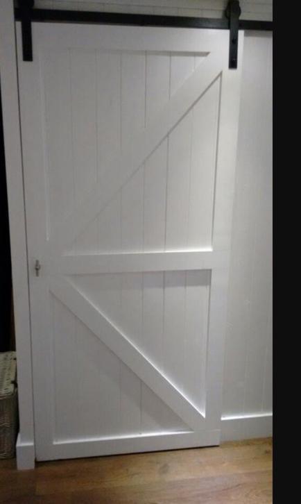 Loftdeur steigerhout schuifdeur loft deur - Schuifdeur deur ...