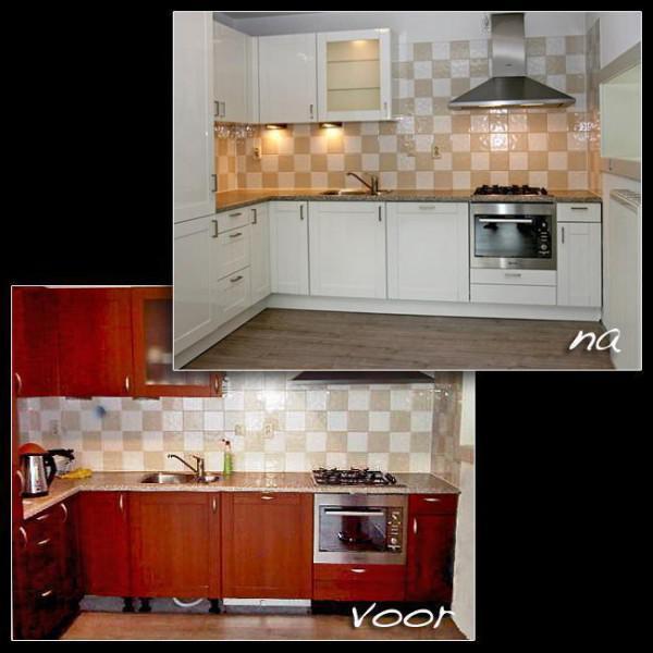 Keuken opknappen met nieuwe keukendeurtjes   huntingad.com