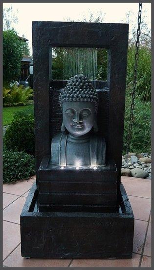 giant boeddha buddha fontein 109cm waterpartij watero. Black Bedroom Furniture Sets. Home Design Ideas