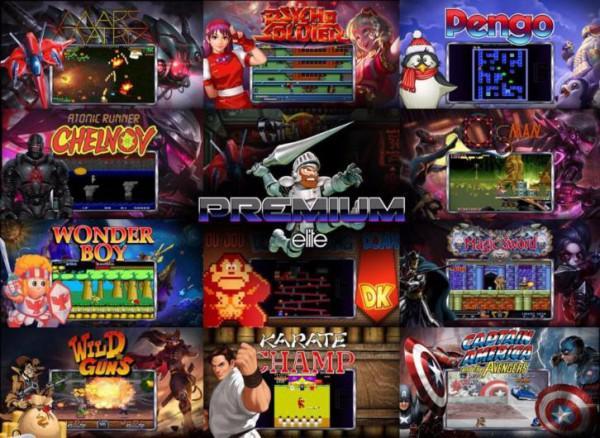 Xbox Coinops Arcade Kast Met Nes Snes Sega Neo Geo Etc